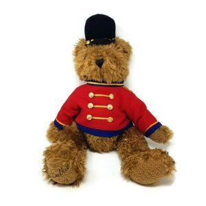 Vtg 1999 Belkie Jointed Bear Plush British Guard T